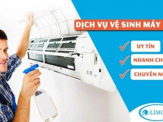 vệ sinh máy lạnh tại TPHCM